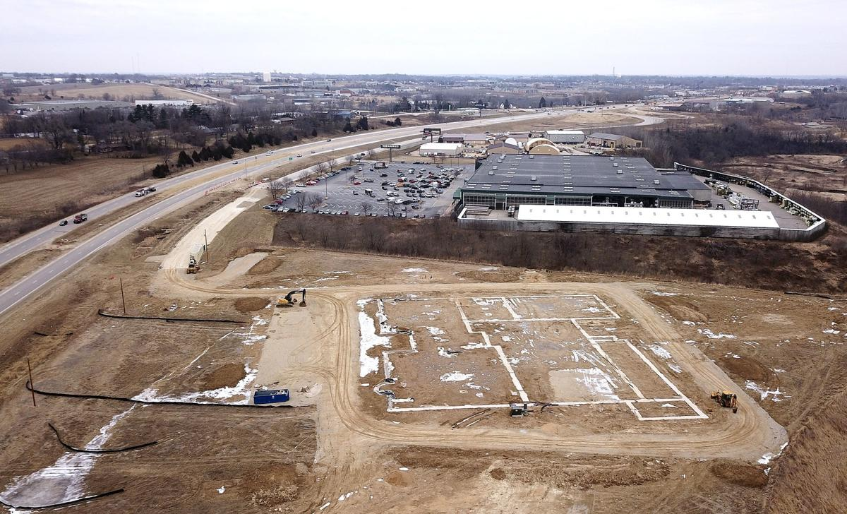 Future site of Richardson Motors