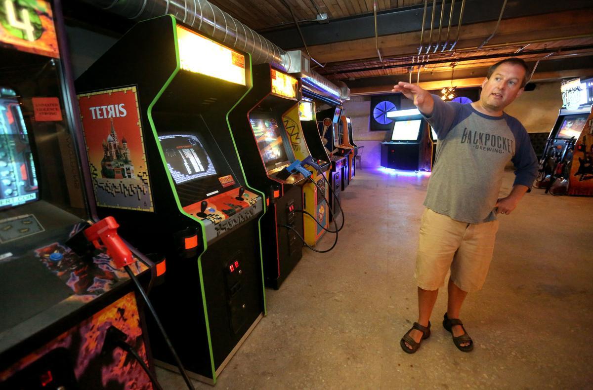 New 'beercade' in Dubuque combines beverages, arcade