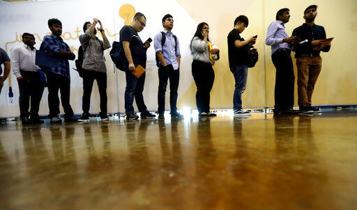US hiring slows but unemployment rate hits fresh 50-year low