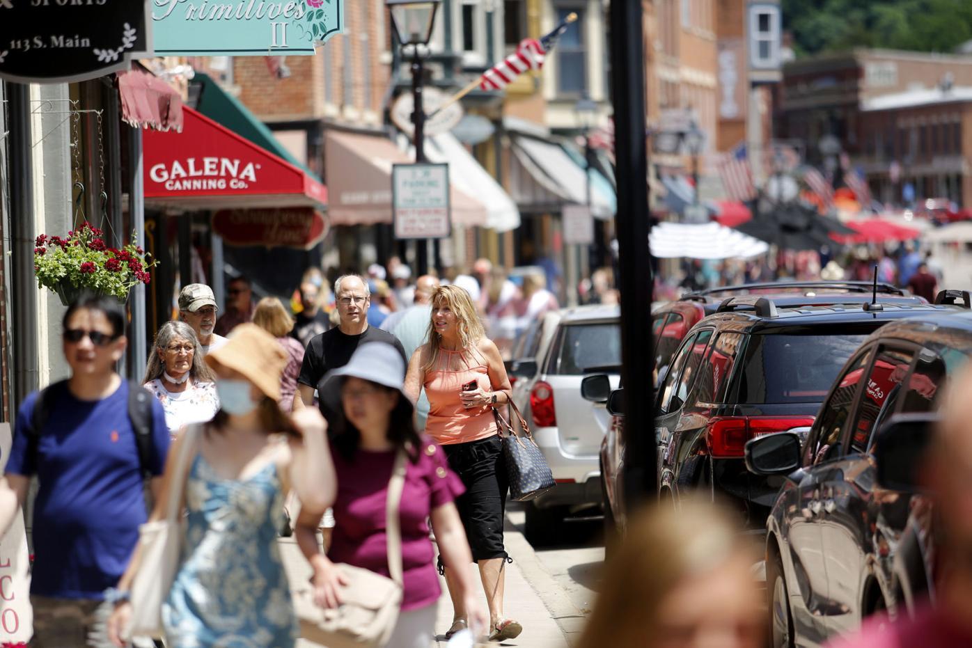 Tourism rebound - Galena