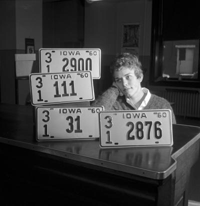1960 license plates