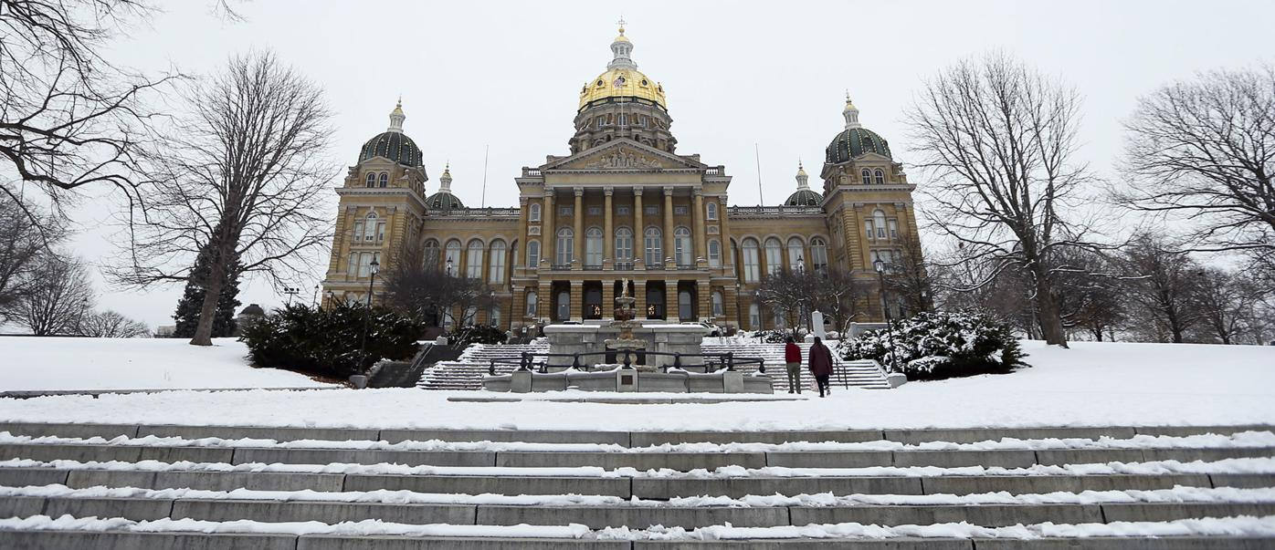 Iowa State Capitol in Des Moines