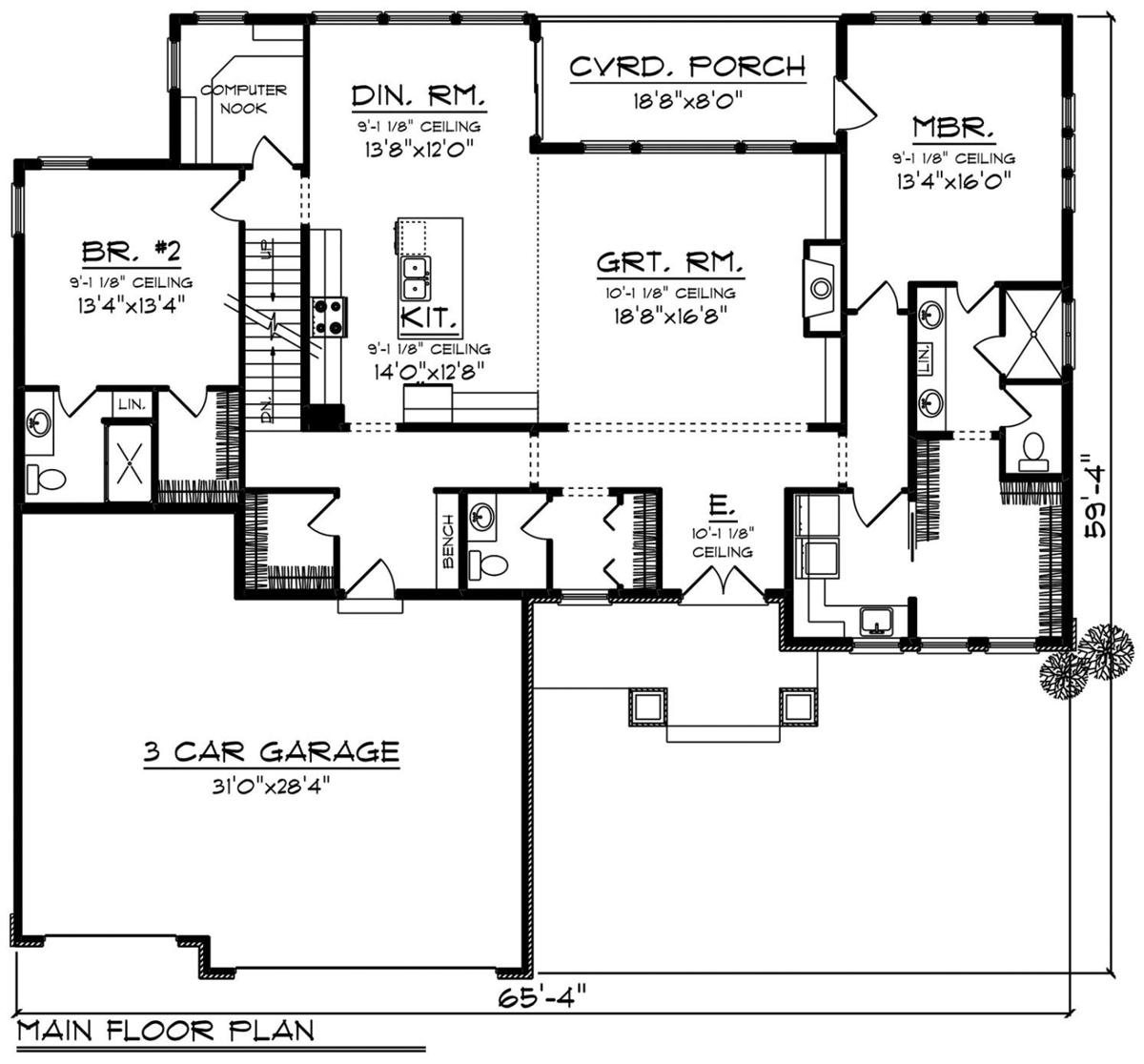 House of the Week: Get ready for the holidays with this ... on ranch house plans, ranch home interior, ranch home floor designs, ranch home construction plans, simple home floor plans, ranch home elevations, ranch home floor plans, ranch home design plans, ranch home pricing, ranch home drawings, simple one floor house plans, simple square house floor plans, ranch blueprints, simple ranch floor plans,