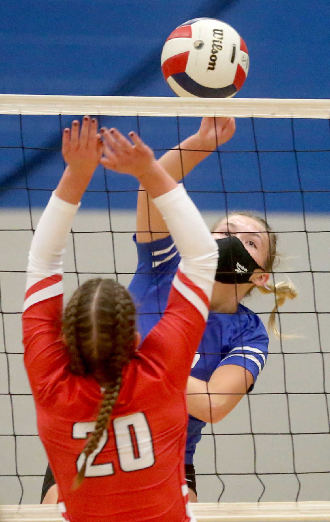 East Dubuque vs. Bellevue Marquette volleyball