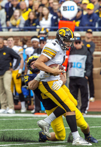 No. 17 Iowa looks to tighten things up vs. No. 10 Penn State