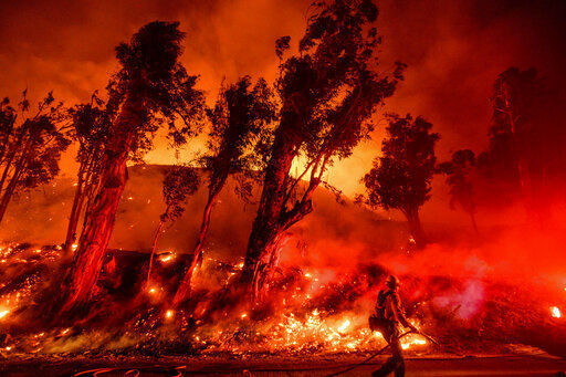 Crews battle last stubborn Southern California wildfire