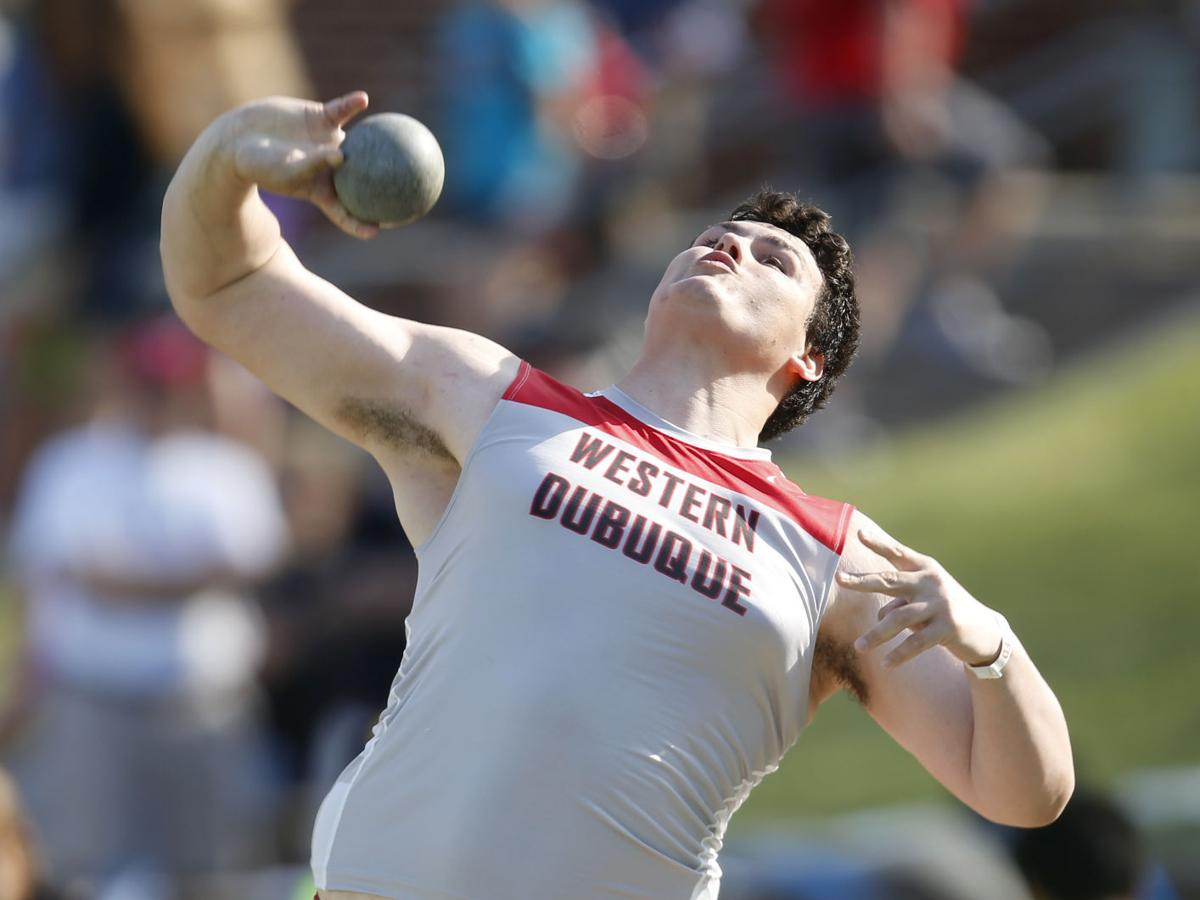 Boys State Track Championships Blaser Places Second In