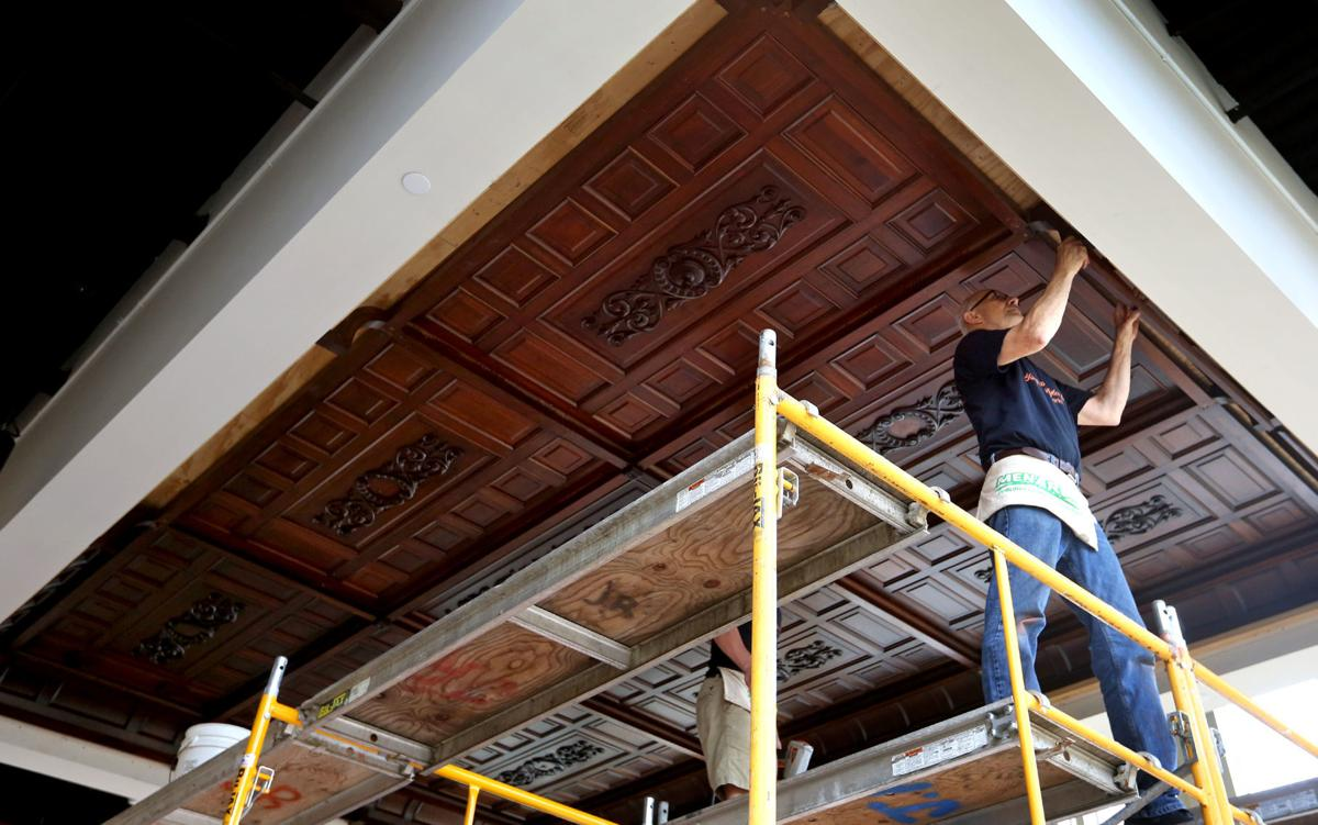 historical ceiling - Reclaimed Wood Ceiling