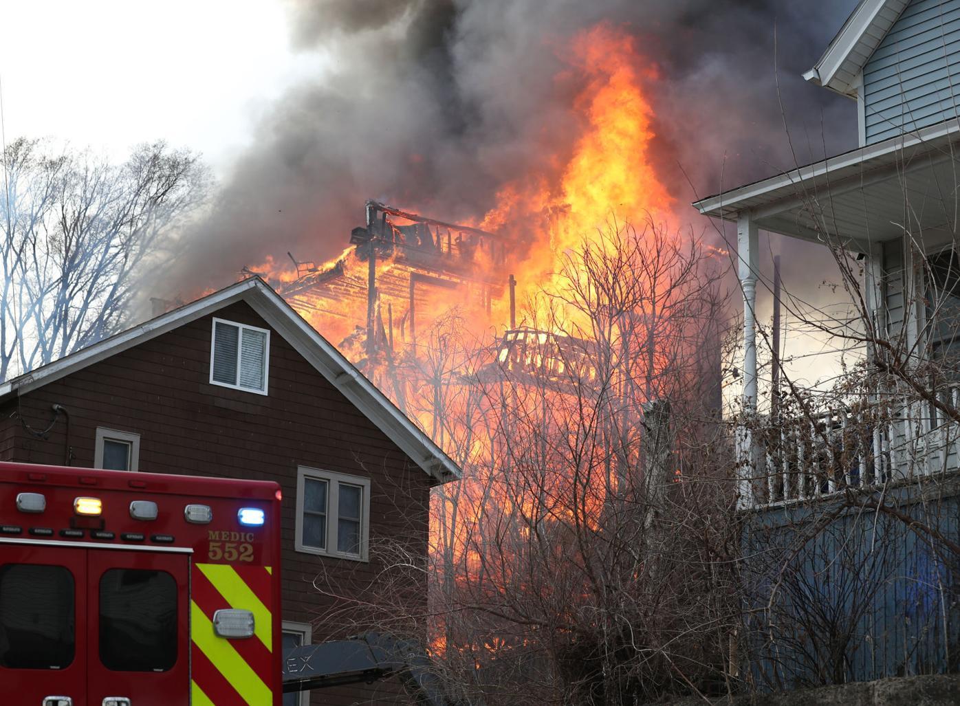 Dubuque House Fire