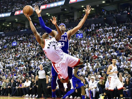 33548b53f67 NBA  Butler scores 30 as 76ers beat Raptors to even series