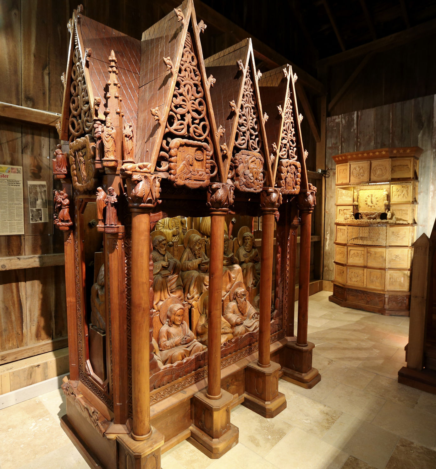Woodcarver museum