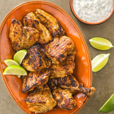 How to make a traditional tandoori chicken - at home