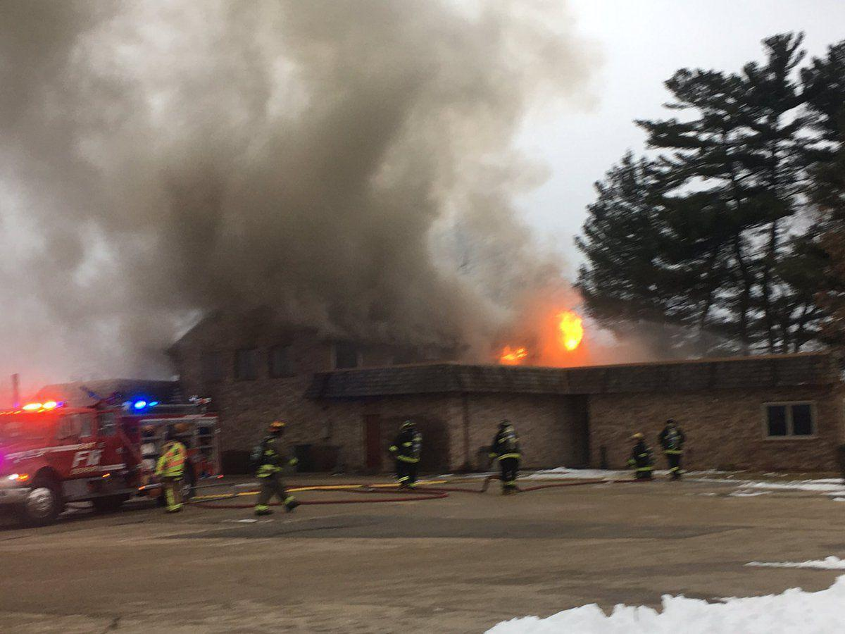 East Dubuque fire