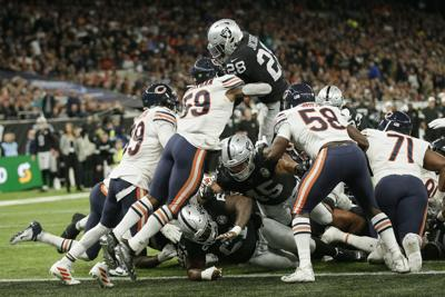 Bears Raiders Football