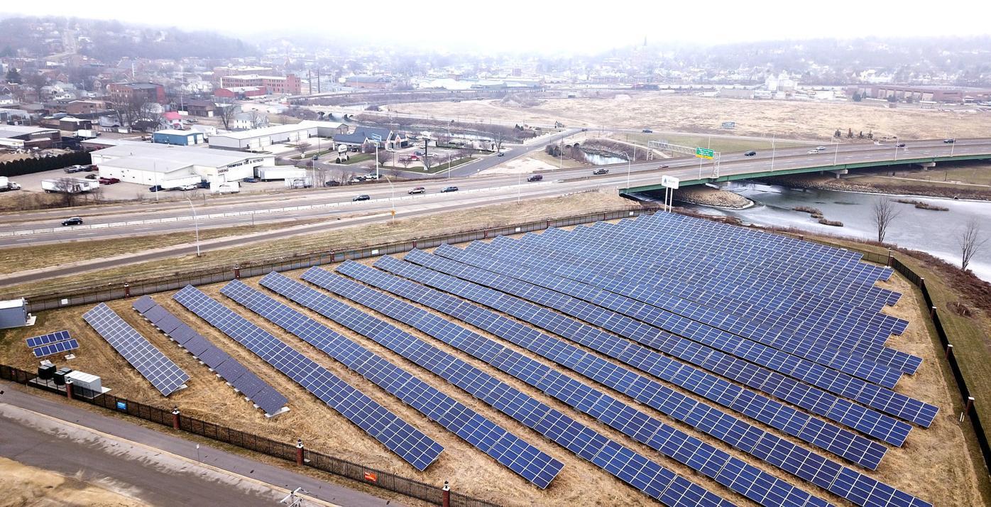 Alliant Energy solar array