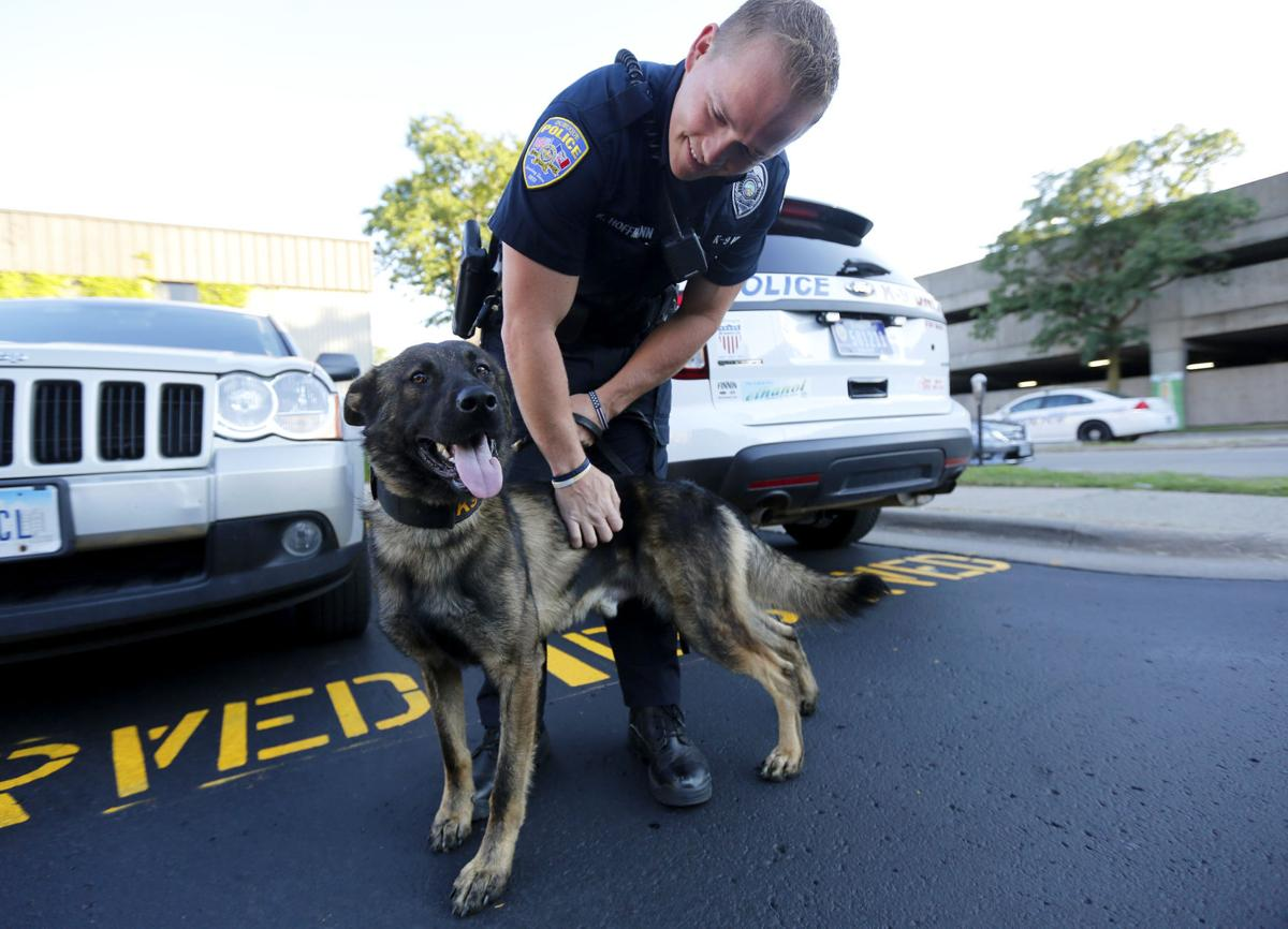 Crowdfunded K 9 Ready To Clean Up Dubuque Streets Tri