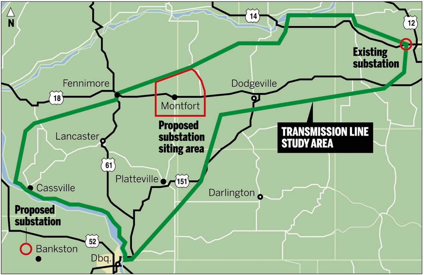 Proposed ITC route