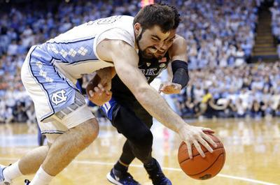 4062f3d2b0c3 College basketball roundup  No. 3 UNC tops No. 4 Duke to earn share ...