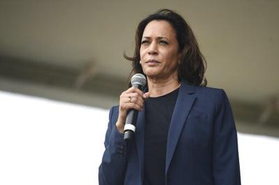 Harris says Iowa's caucuses can prove she's electable
