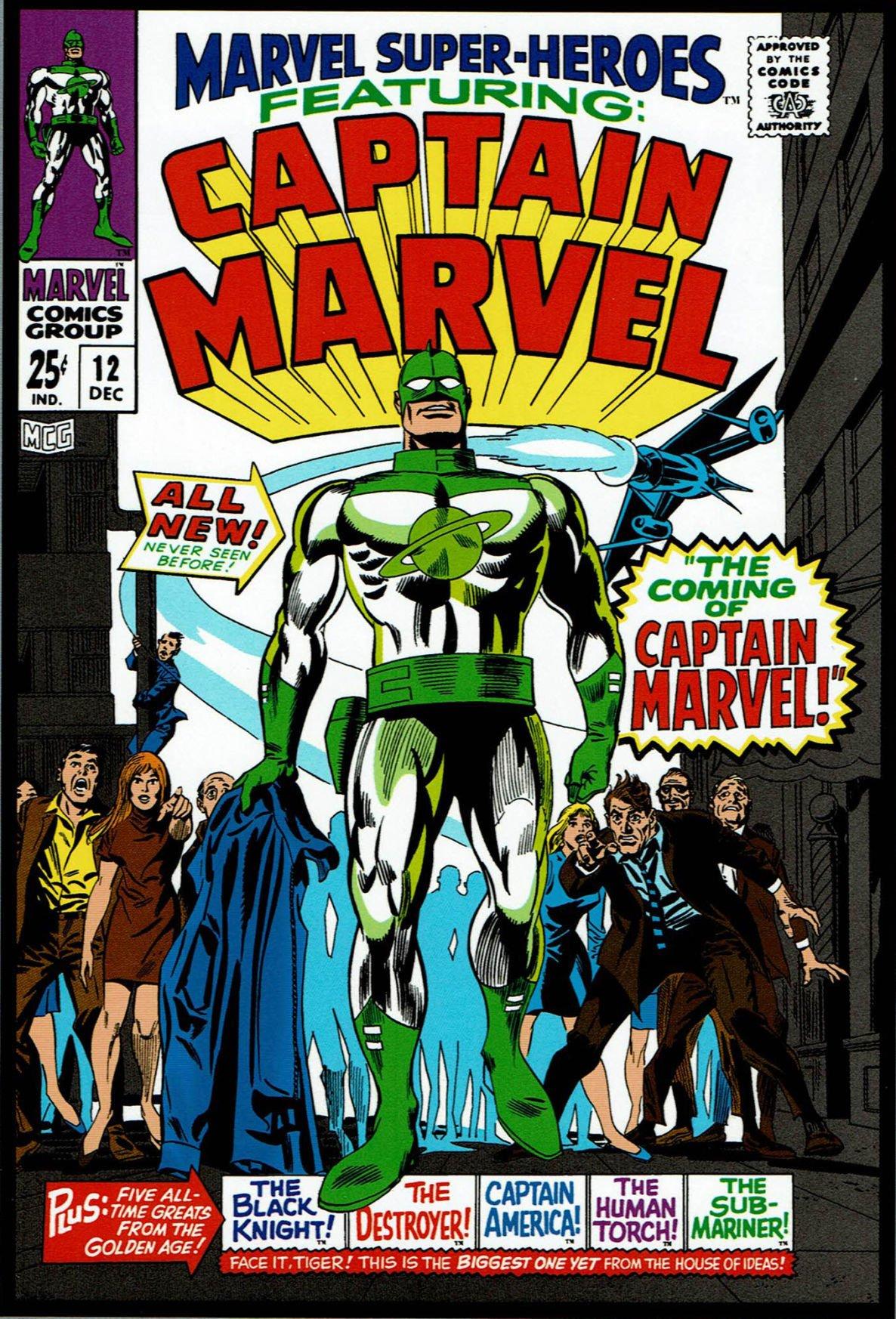 Carol Danvers Ms Marvel Captain Marvel Movie Poster A5