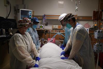 US registering highest deaths yet from the coronavirus