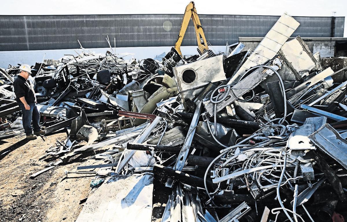 Scrap metal no longer hot item   Business   telegraphherald.com