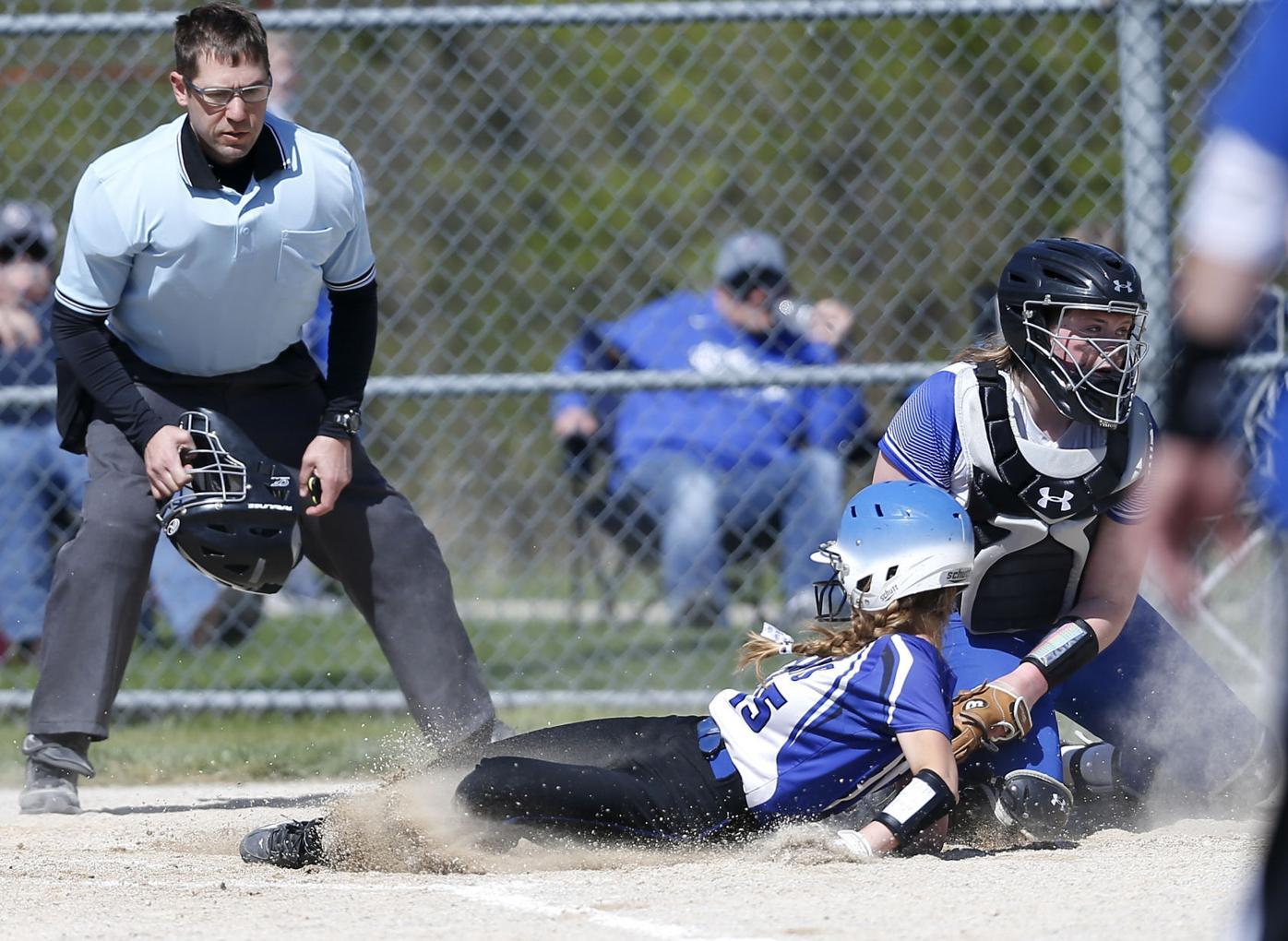 Galena vs. Southwestern softball