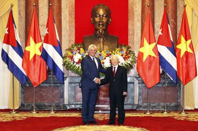 Image result for Cuba: President Diaz-Canel Signs Trade Agreement With Vietnam