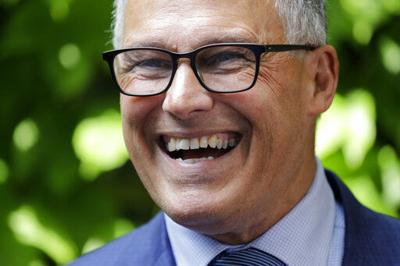 Jay Inslee launches bid for 3rd term as Washington governor