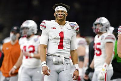 Bears trade up with Giants, draft Ohio St QB Justin Fields