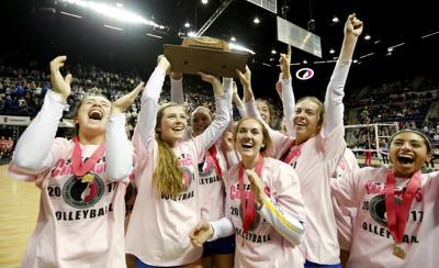 Wahlert State Volleyball