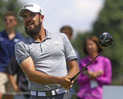 Johnson takes 1-shot lead over Spieth at Liberty National