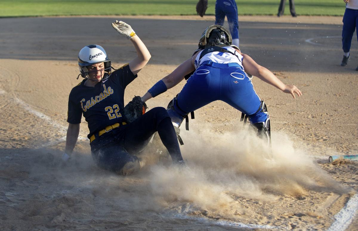 Cascade vs. Bellevue softball