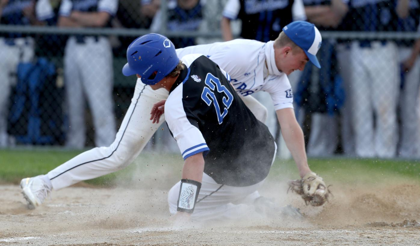 Galena vs East Dubuque Baseball