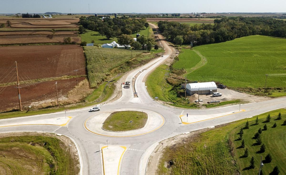 U.S. 52 road construction