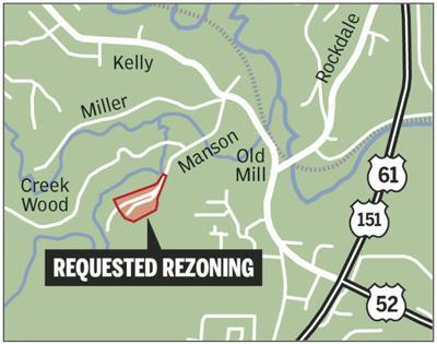 Proposed Manson Road event center site