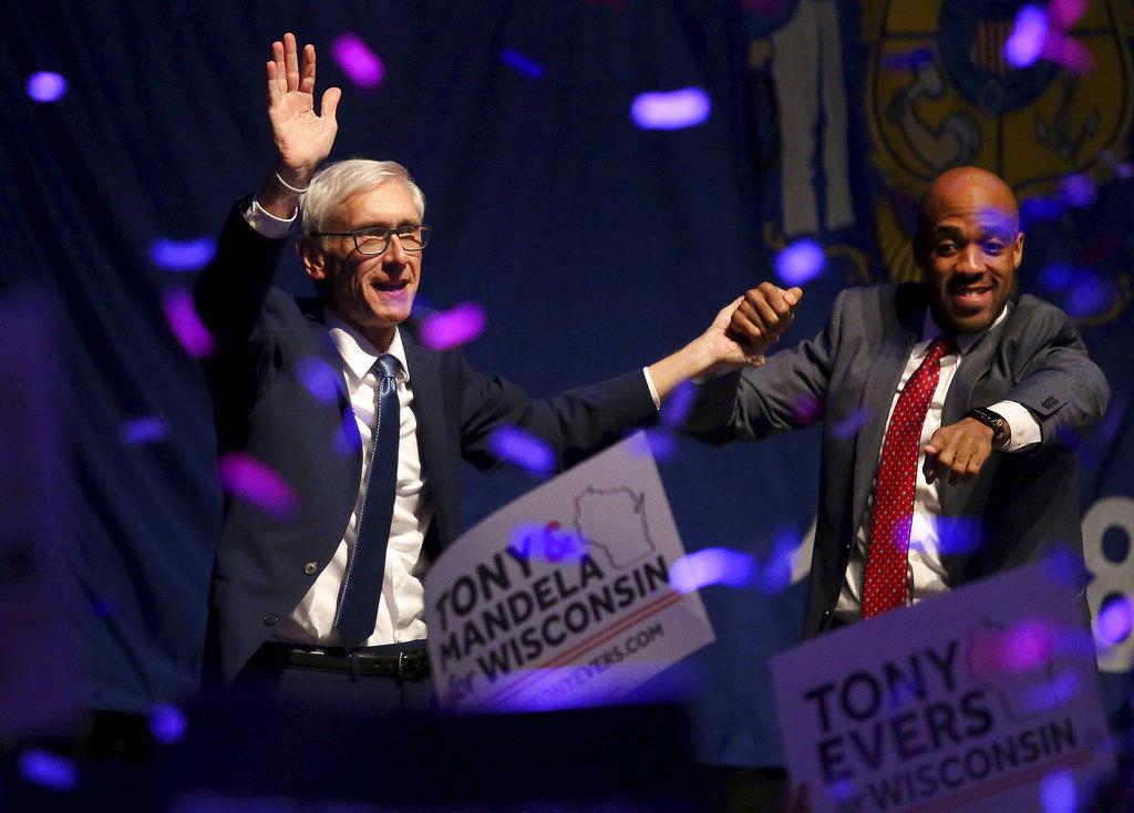Evers looks ahead to leading Wisconsin; Walker eyes recount