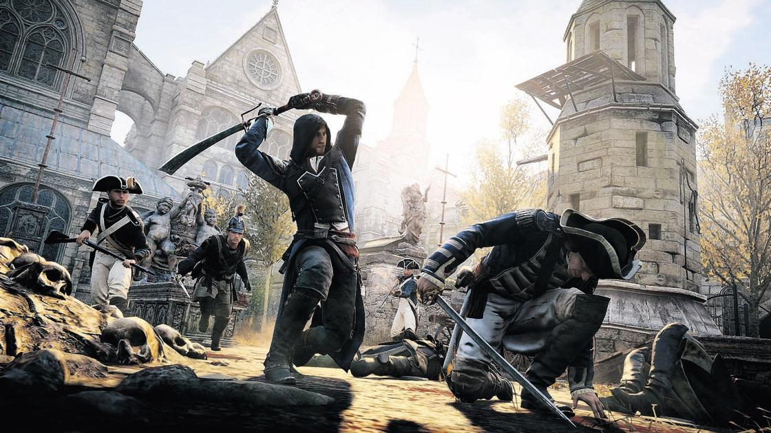 Assassin S Creed Unity Gameplay Takes A Tumble Feature Stories