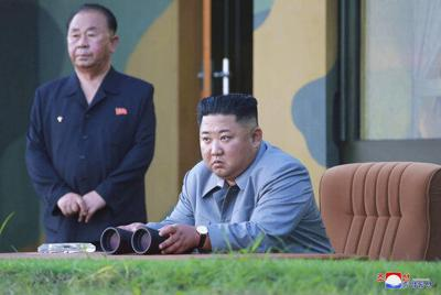 N. Korea says leader Kim supervised tests of weapons systems