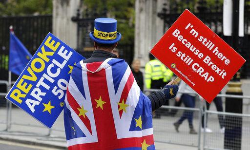 UK says chances of Brexit deal slim; EU chides 'blame game'