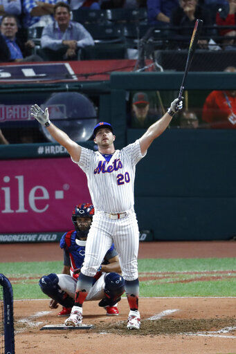 Money Ball: Mets' Alonso wins HR Derby, $1M, tops Vlad Jr