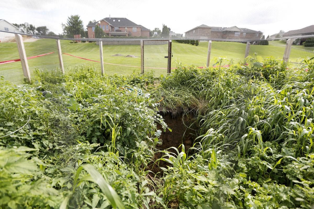 dubuque county resident discovers possible mineshaft in backyard