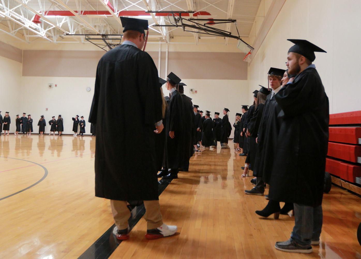 Western Dubuque graduation 2021