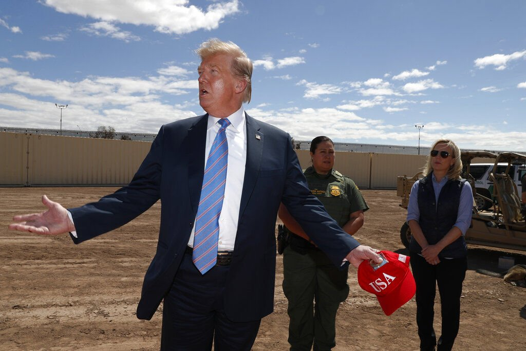 our country is full trump says migrants straining system rh telegraphherald com
