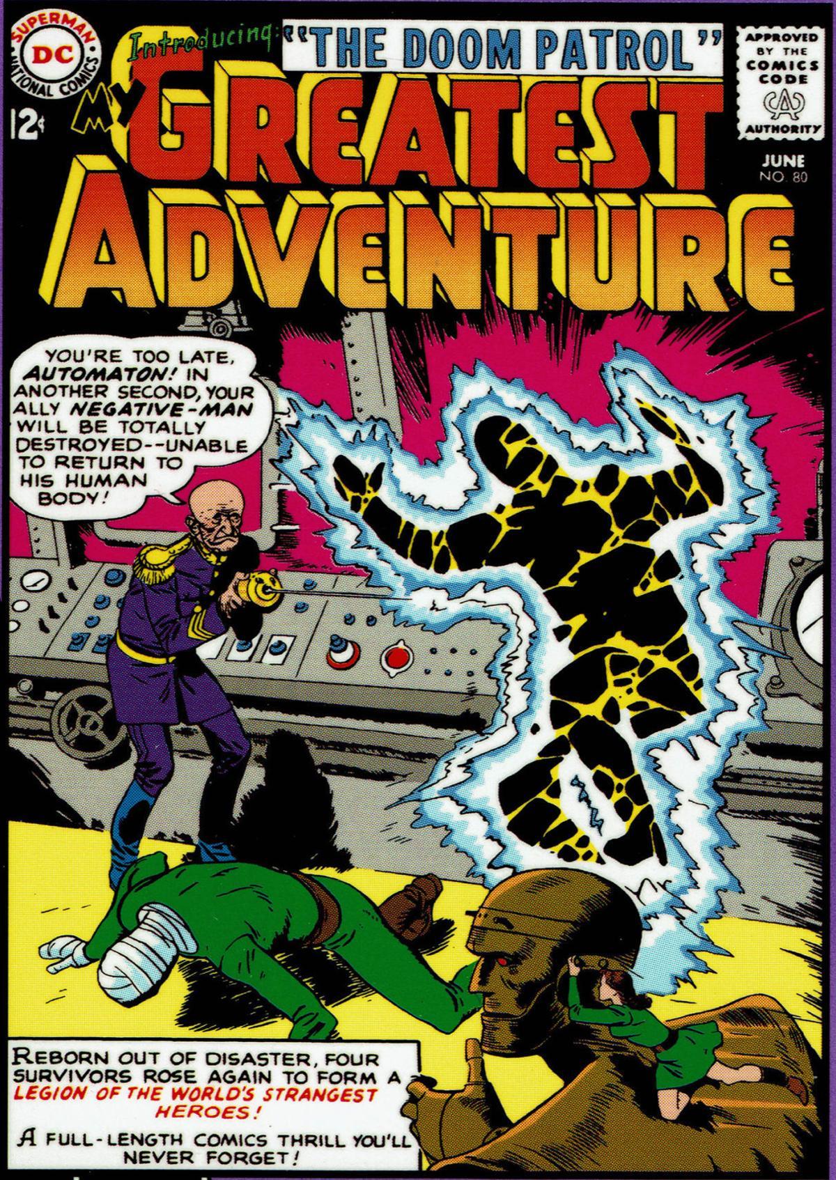 Captain Comics: Deciphering the weird 'Doom Patrol' team | The Mouth