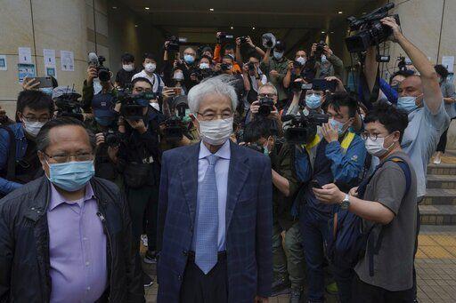 Hong Kong democracy leaders given jail terms amid crackdown