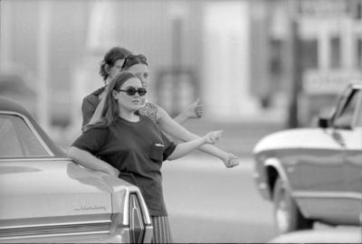 Throwback Thursday: Female hitchhiking on the rise
