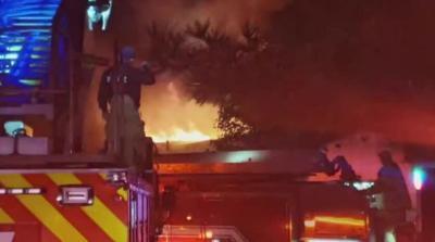 Southwest Lubbock apartment fire