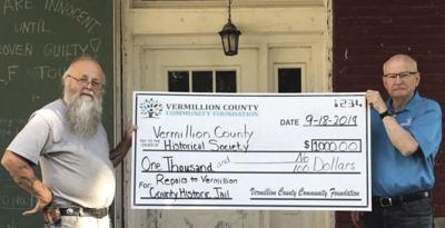 Foundation grant to benefit historical society