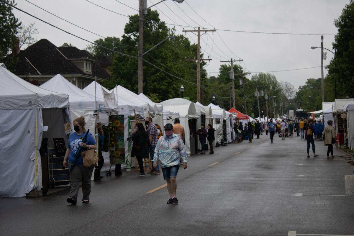artsfest tents